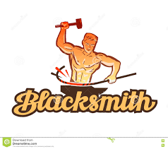 blacksmith clipart hephaestus pencil and in color blacksmith