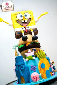 spongebob cake toppers spongebob cake topper best design shop images on australia
