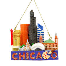 chicago landmarks christmas ornament a great ornament of chicago