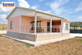 Prefab Rooms Prefabricated Houses Zambia Mass Affordable Social Housing Karmod