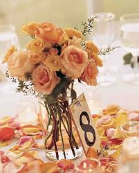 roses centerpieces wedding centerpieces martha stewart weddings