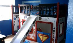 cool super hero baby boy bedroom ideas also comely bunk bed with