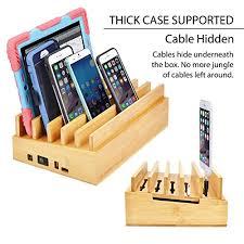 laptop charging station home avantree powerplant 10 port bamboo charging station for multiple