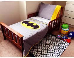 Batman Toddler Bed Toddler Bedding Etsy