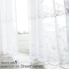 European Lace Curtains Interior Shop Harry Rakuten Global Market Order Curtains