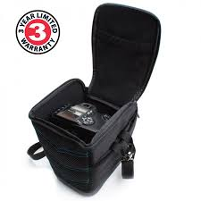 digital camera bag with adjustable padded walls scratch