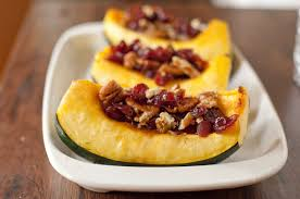 thanksgiving acorn treats vegetarian recipe for stuffed acorn squash eating richly