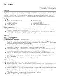 Resume Operation Call Center Operation Manager Resume Blownbrave Ga
