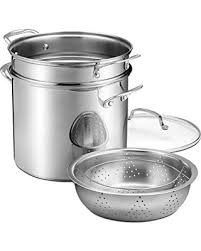 pasta basket fall into savings on cuisinart 12 quart stockpot with cover pasta