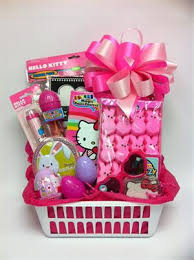 hello easter gift basket for