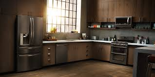 Black Kitchen Appliances by Black Kitchen Cabinets With White Appliances Dmdmagazine Home