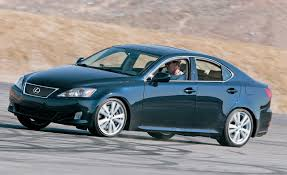 lexus 2010 is350 2006 lexus is350 comparison tests comparisons car and driver