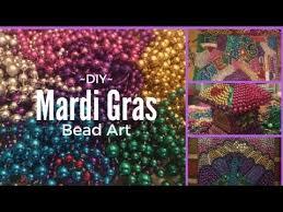 mardi gras bead wreath mardi gras bead