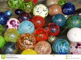glass balls stock photo image of bright multi 25144172