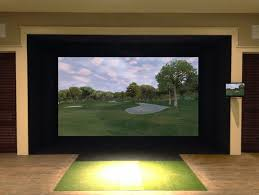 Home Golf Simulator by Images Full Swing Golf Indoor Golf Simulator Technology