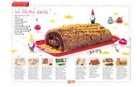 cuisine revue la bûche dorée une recette pour les enfants de bûche pour les