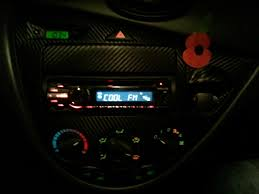 ford focus light on dashboard dash led colour change ford focus forum ford focus st forum