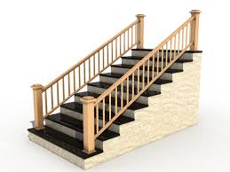 Wooden Handrail Marble Staircase With Wooden Handrail 3 Royalty Free Stock Photo