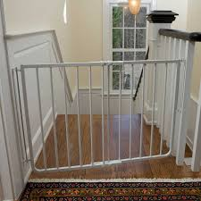 Child Proof Gates For Stairs Cardinal Gates Stairway Special Gate In White Petco