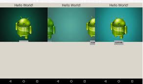 z index android relative layout android viewpager with pagetransformer looses it s z index stack