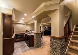 finished walkout basement the ideal finished walkout basement ideas pic festivalsalsacali