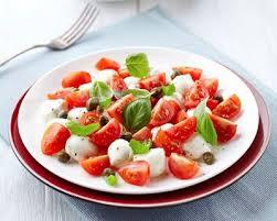 cuisiner des tomates s h s recette salade de tomates cerise et mozzarella