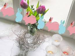 easter rabbits decorations the easter bunny as easter decoration fresh design pedia