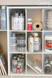 How To Organize Craft Room - creative ways to organize craft supplies and paint