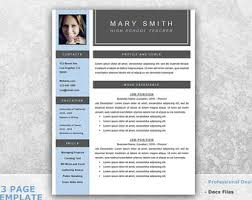 Teacher Resume Templates Word Actor Resume Template Word Professional Resume Template For
