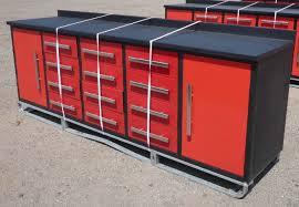 12 drawer 10 ft red steel work bench uncle wiener u0027s wholesale