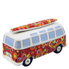 volkswagen van with surfboard clipart vw bus money bank with surfboard spirals bumb16