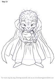 learn draw babidi dragon ball dragon ball step