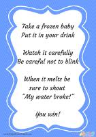 my water baby shower free printable my water baby shower depot