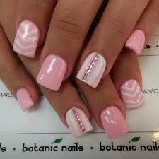 plain acrylic nail designs how you can do it at home pictures