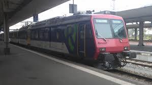 Basel Bad Bf Rabe 521 010 Flirt Der Sbb Als Regio S Bahn Basel Linie S 5 Am