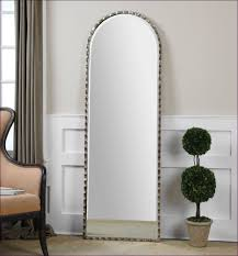 furniture rustic wall mirrors arched decorative mirror over the