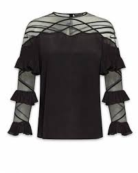 Black Blouses For Work Dressy Blouses U0026 Tops For Work Anne Fontaine