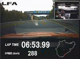 lexus lfa motor trend video find zr what lexus lfa shatters nurburgring record with 7