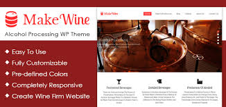 alcohol processing wordpress theme u0026 template inkthemes