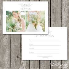 free gift certificate template for photographers photography