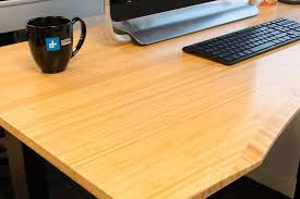 desk power outlet jarvis standing desk review digital trends