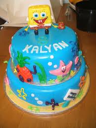 spongebob cakes u2013 decoration ideas little birthday cakes