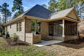 Garage With Screened Porch Contemporary Brick Homes By Metropolitan Homes Willie Pino