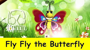 fly fly the butterfly family sing along muffin songs youtube