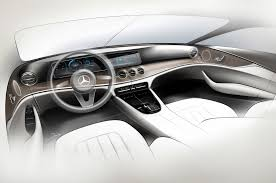mercedes e class concept 2017 mercedes e class interior gets s class charm upgraded tech