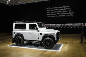 new land rover defender 2016 land rover photo galleries autoblog