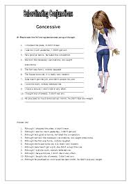best ideas of worksheets on subordinating conjunctions also