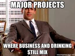 Mad Men Meme - major projects where business and drinking still mix mad men