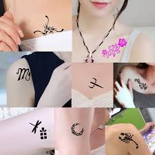 1 small unisex henna stencil bird fly pattern diy