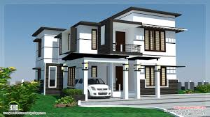 contemporary house designs sqfeet 4 bedroom villa design with